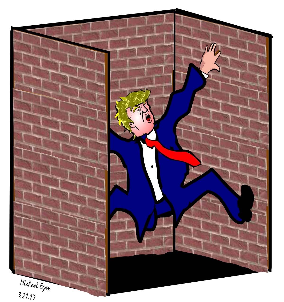 Trump walls Closing In