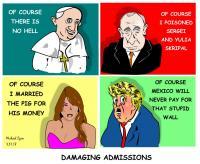 Damaging Admissiona